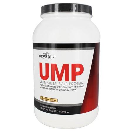 Beverly International UMP Ultimate Muscle Protein Powder - Cookies & Creme, 32.8 Oz