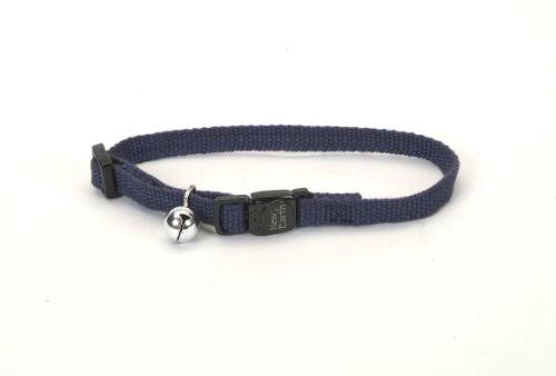 "Coastal Pet Earth Cat Collar - 3/8"", Indigo"