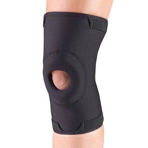 Otc Orthotex Knee Support - With Stabilizer Pad, Black, Medium