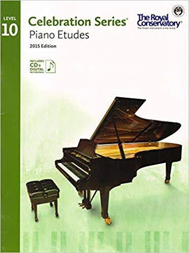 Royal Conservatory Celebration Series: Piano Etudes Level 10 Book 2015 Edition - Royal Conservatory