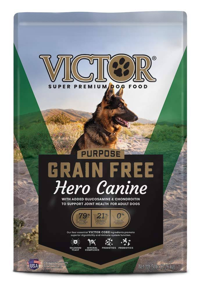 Victor Hero Grain-Free Dry Dog Food - 5 lb