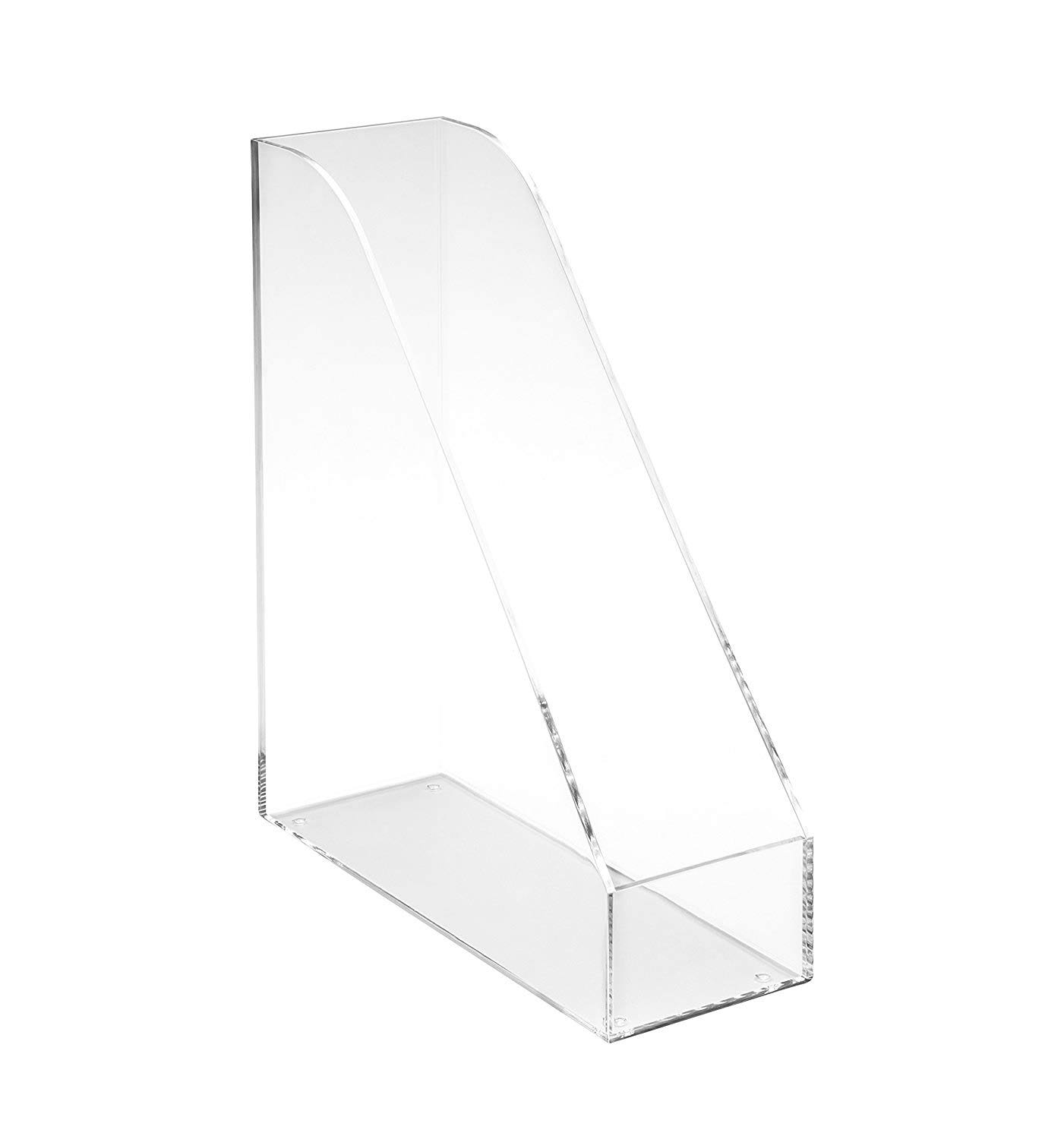 Osco Acrylic Magazine Rack Clear