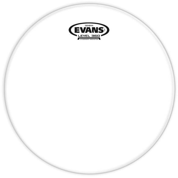 Evans Genera Resonant Drum Head - 10""