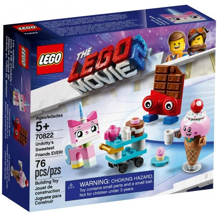 Lego The Lego Movie 2 Unikittys Sweetest Friends Ever! Building Toy