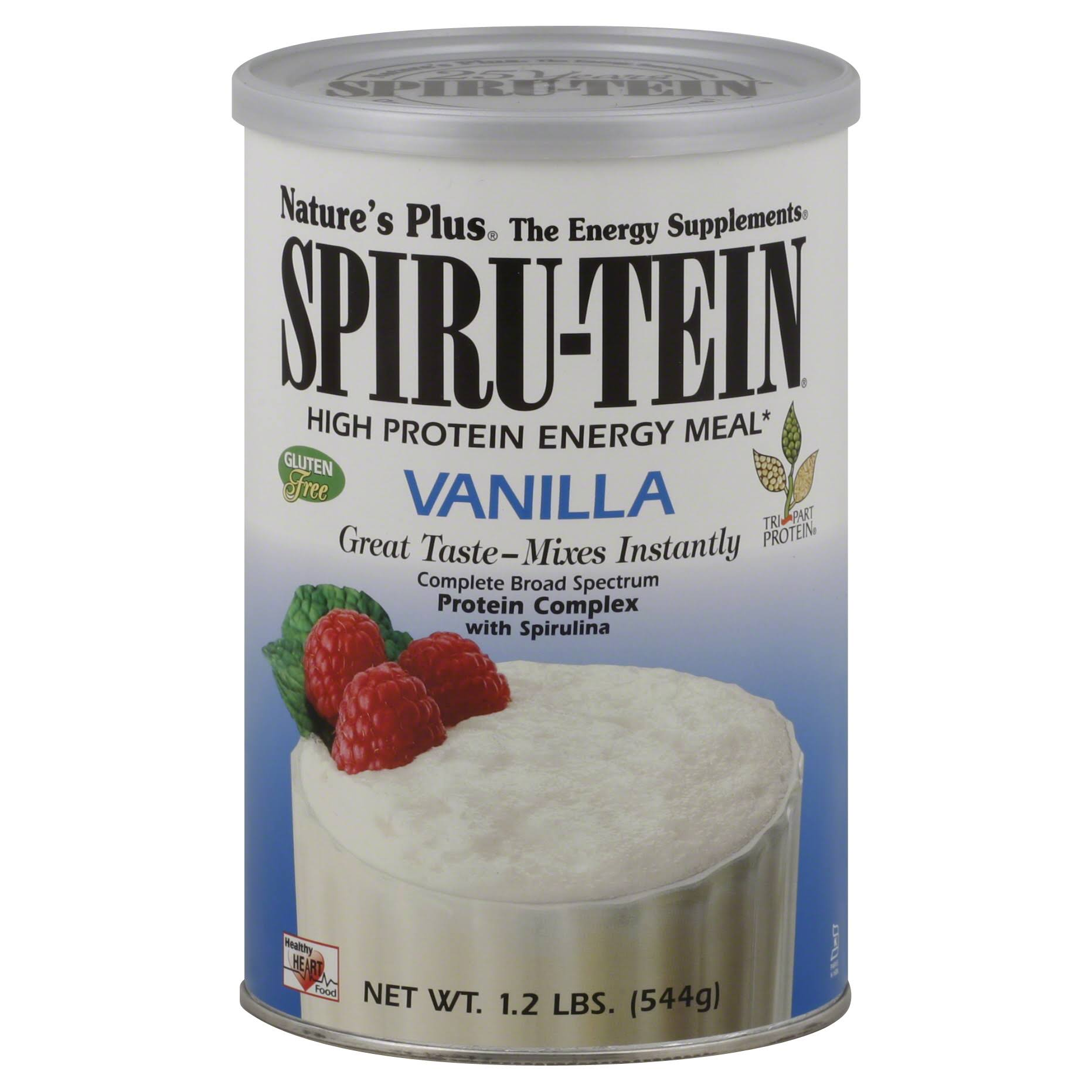 Nature's Plus Spiru-tein Powder - Vanilla