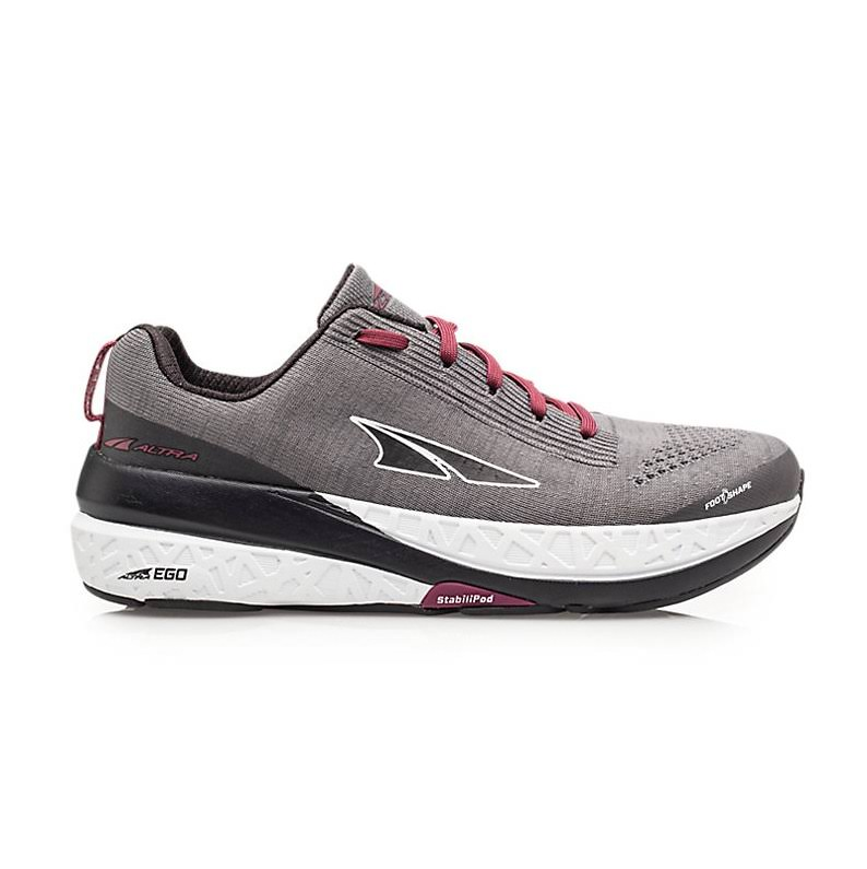 Women's Altra Paradigm 4.5 Running Shoes - Gray 8