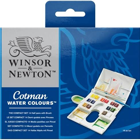 Winsor and Newton Cotman Water Colour - 12 Set
