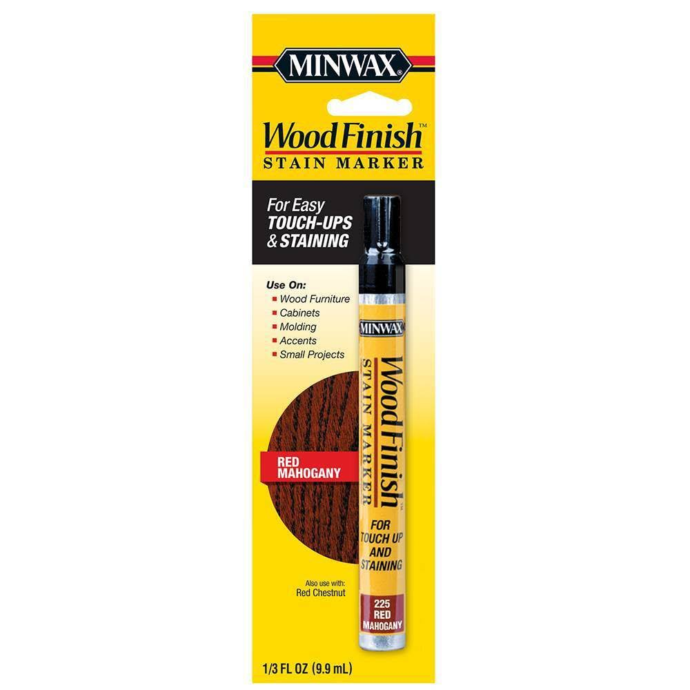 Minwax Interior Wood Finish Stain Marker - Red Mahogany