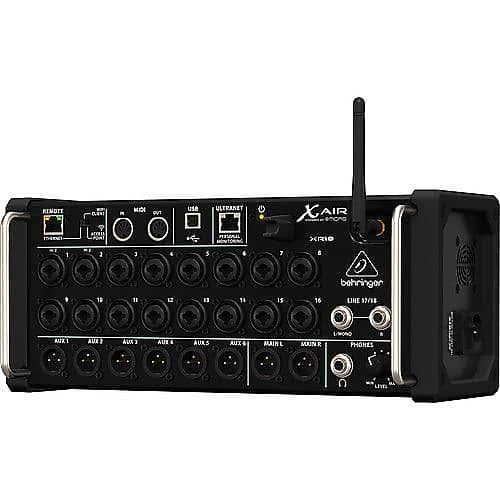 Behringer XR18 Ipad and Android Tablets Digital Mixer - 18 Channel, 12 Bus