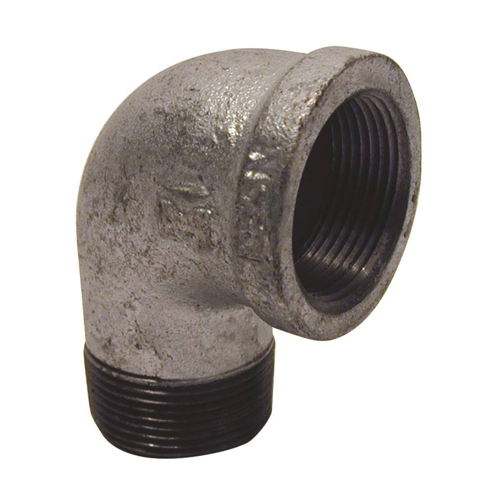 "Mueller Global Galvanized Street Elbow - 1/2"", 90 Degree"