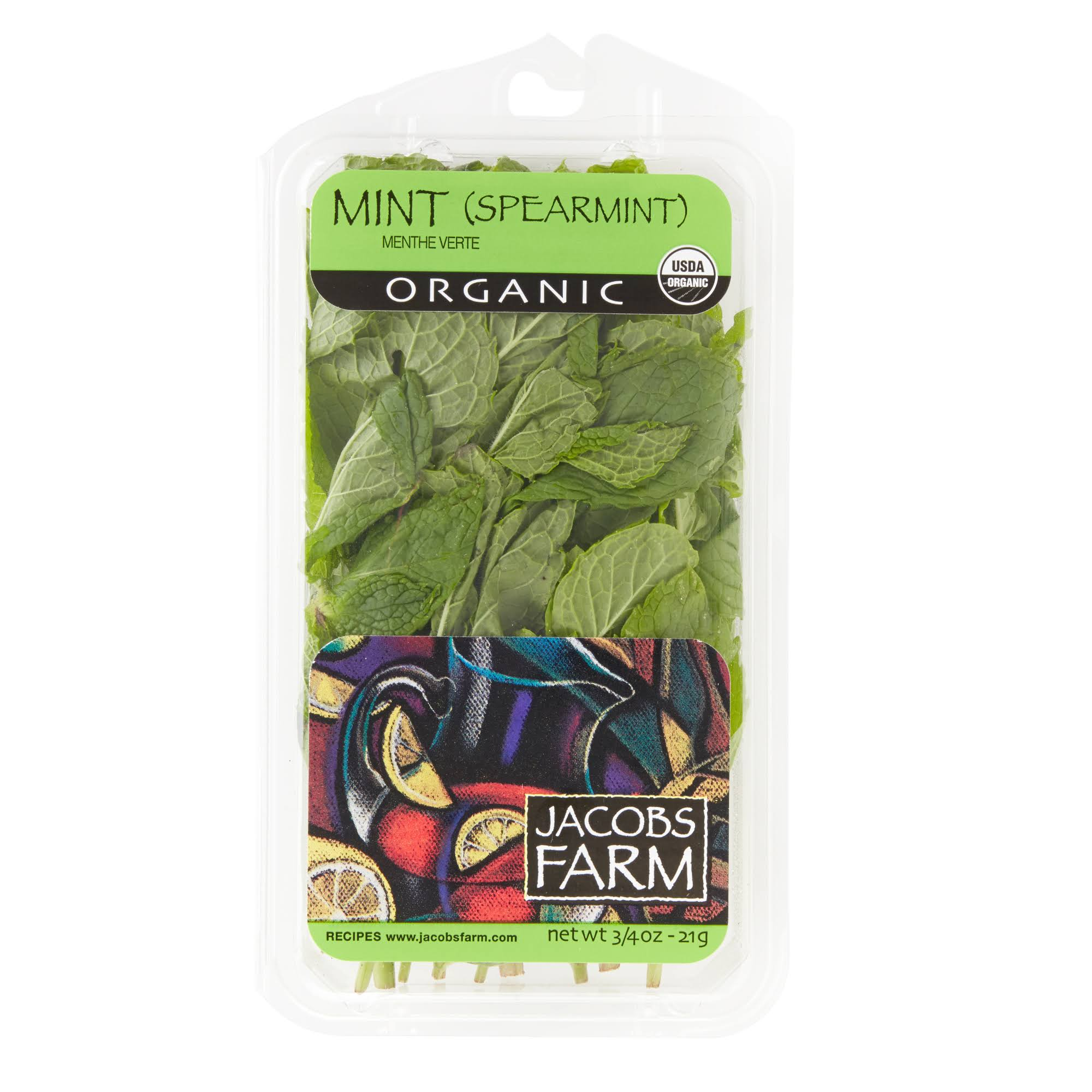 Jacobs Farm Organic Mint - 0.75 oz tray
