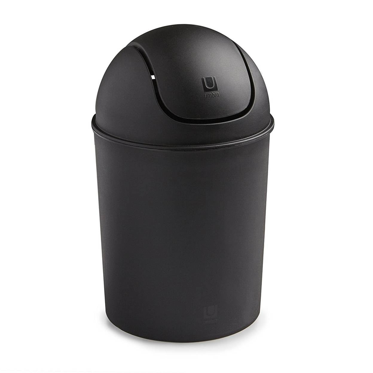Umbra Mini Recycled Polypropylene Waste Can - Black