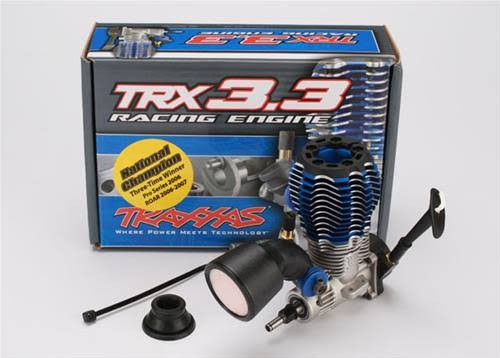 Traxxas 3.3 Nitro TRX Engine IPS Shaft with Pull Start Model Kit
