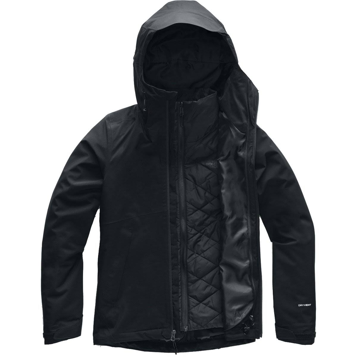 The North Face Carto Triclimate Jacket - Women's TNF Black XXL