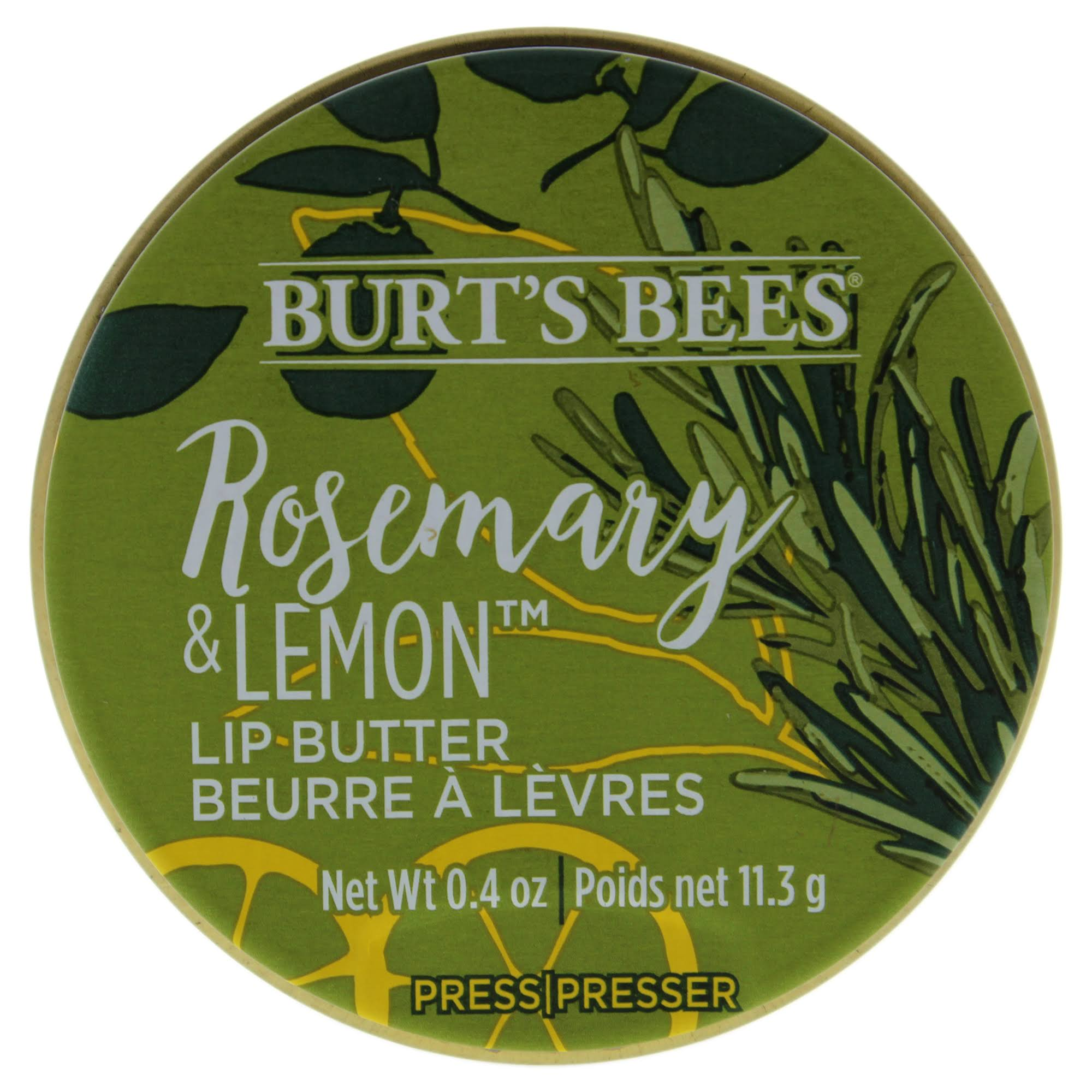 Burt's Bees Lip Butter - Rosemary & Lemon 0.4oz