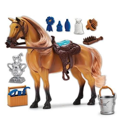 Sunny Days Entertainment Blue Ribbon Champions Deluxe Horse Quarter Horse Toy