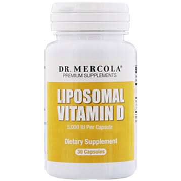 Dr. Mercola Liposomal Vitamin D Supplement - 30 Capsules