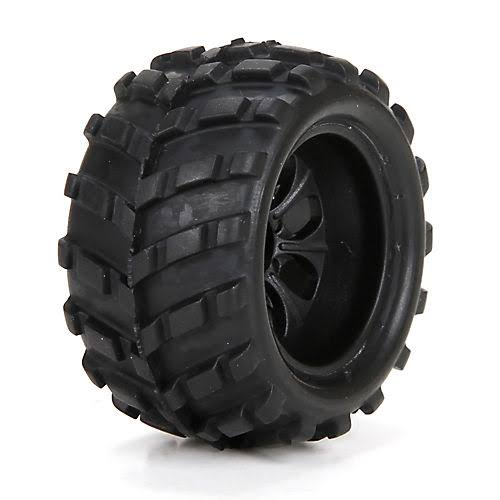 ECX 40004 1:24 Scale Front / Rear Premount Tire - x2