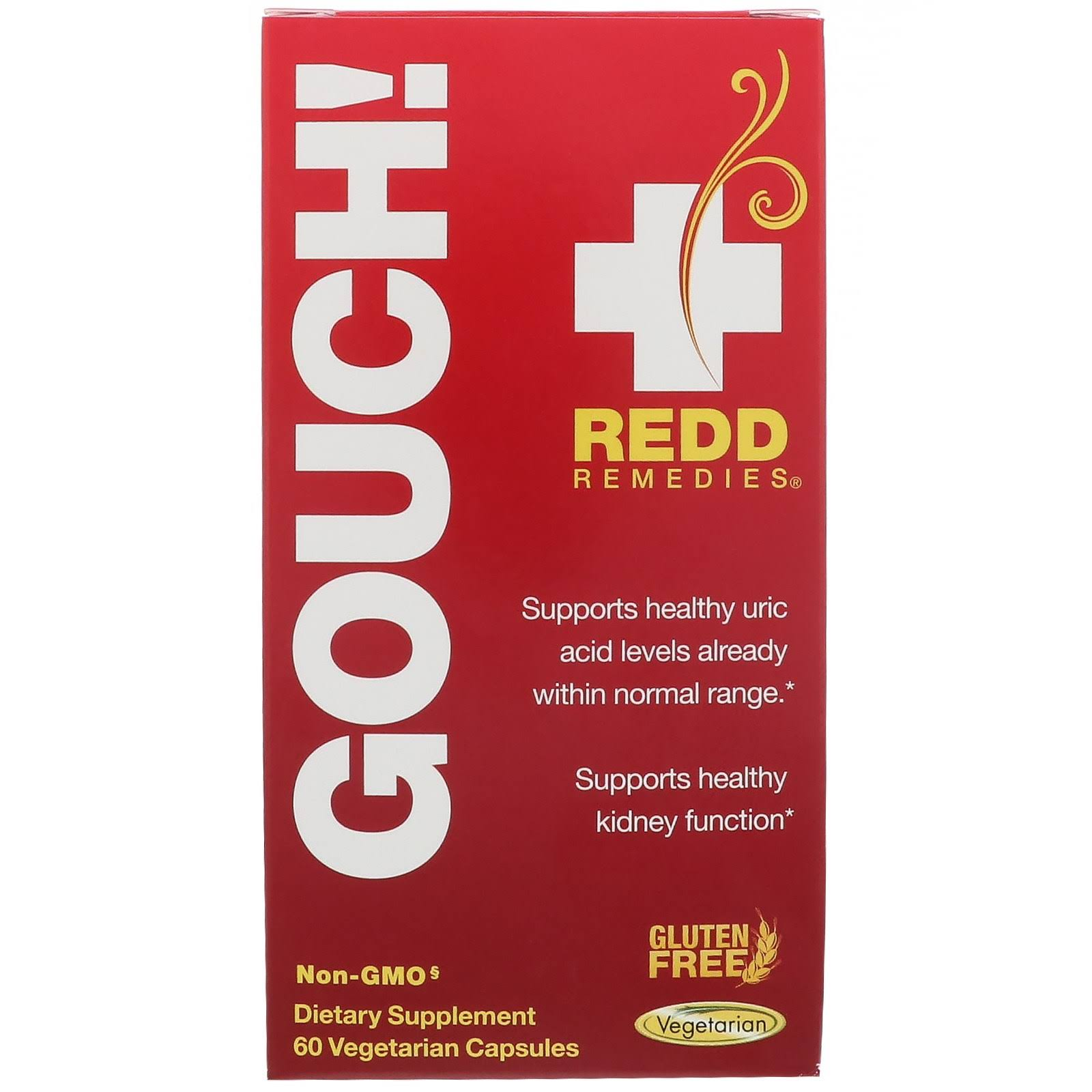 Redd Remedies Gouch 60 Capsules