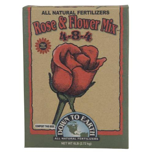 Down To Earth Rose & Flower Mix - 4-8-4, 6lbs