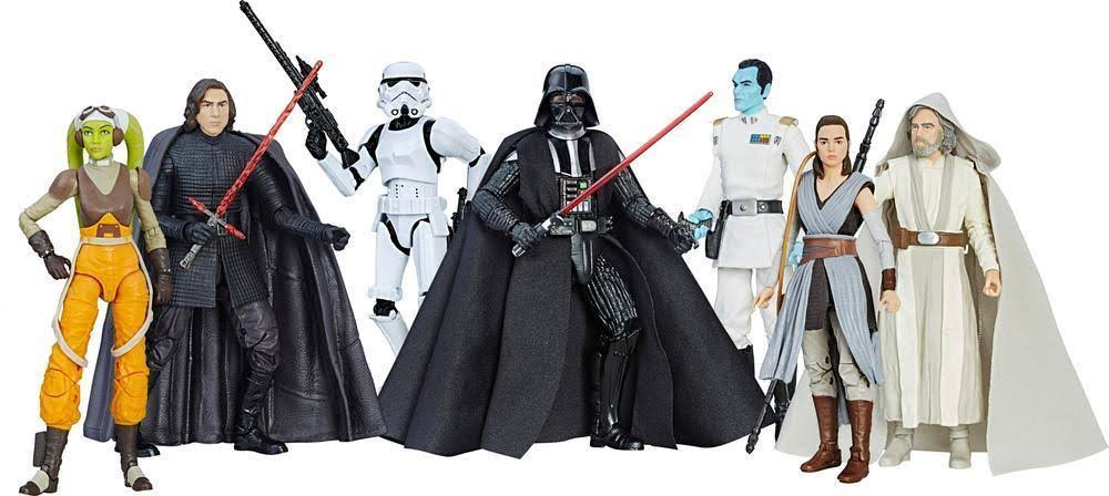Star Wars Black Series The Force Awakens Action Figures - 6""
