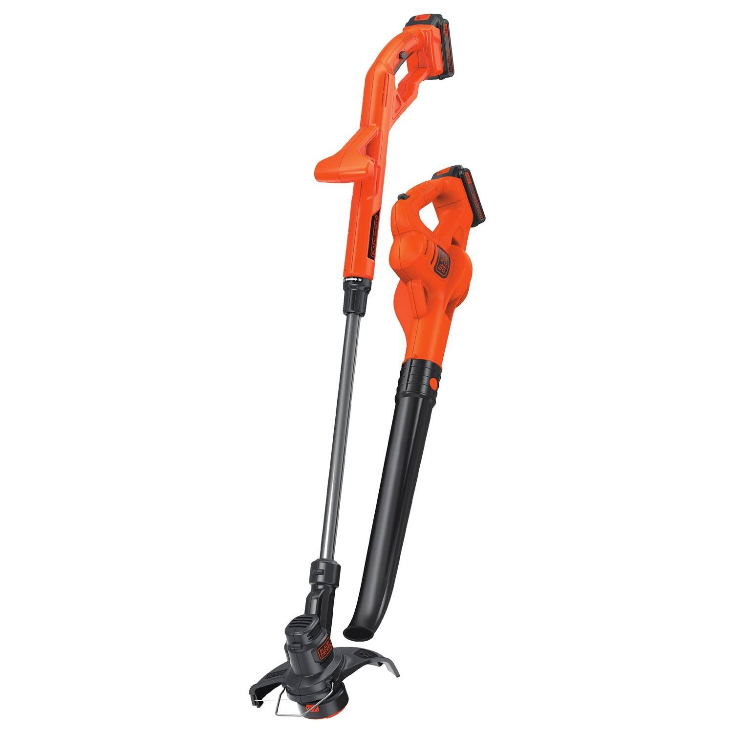 Black & Decker Lcc420 Lithium String Trimmer Sweeper - 20V, Orange