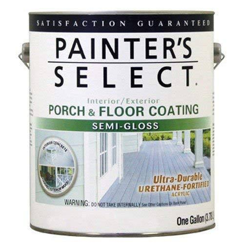 True Value USGF1-GL Painter's Select Semi Gloss Porch and Floor Coating - White Pastel, 1gal