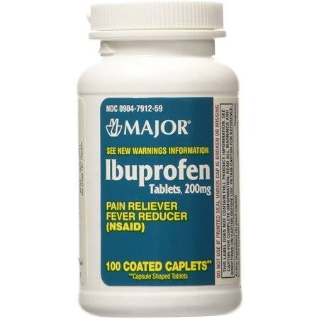 Major Ibuprofen Pain Reliever - 200mg, 50ct
