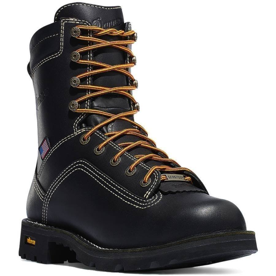 Danner Men's Quarry Usa GTX Boot - Black, US12