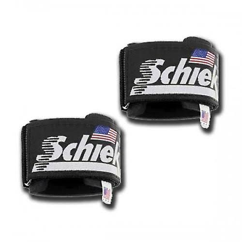 Schiek Sport 1100WS Ultimate Wrist Supports - Black