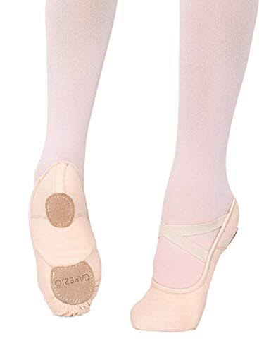 Capezio Split Sole Canvas Ballet Shoes Hanami Ladies Dance Shoes - Size 7.5 US