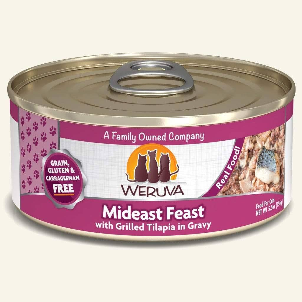 Weruva Canned Cat Food - Mideast Feast, 5.5oz