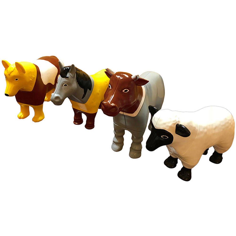 Popular Playthings Magnetic Mix or Match Farm Animals