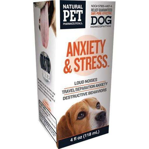 King Bio Homeopathic Natural Pet Dog Anxiety and Stress Control - 4oz