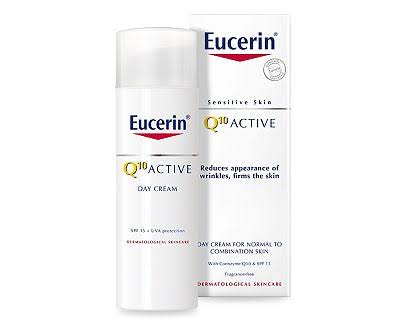 Eucerin Sensitive Skin Q10 Active Day Cream - Normal to Combination Skin, 50ml