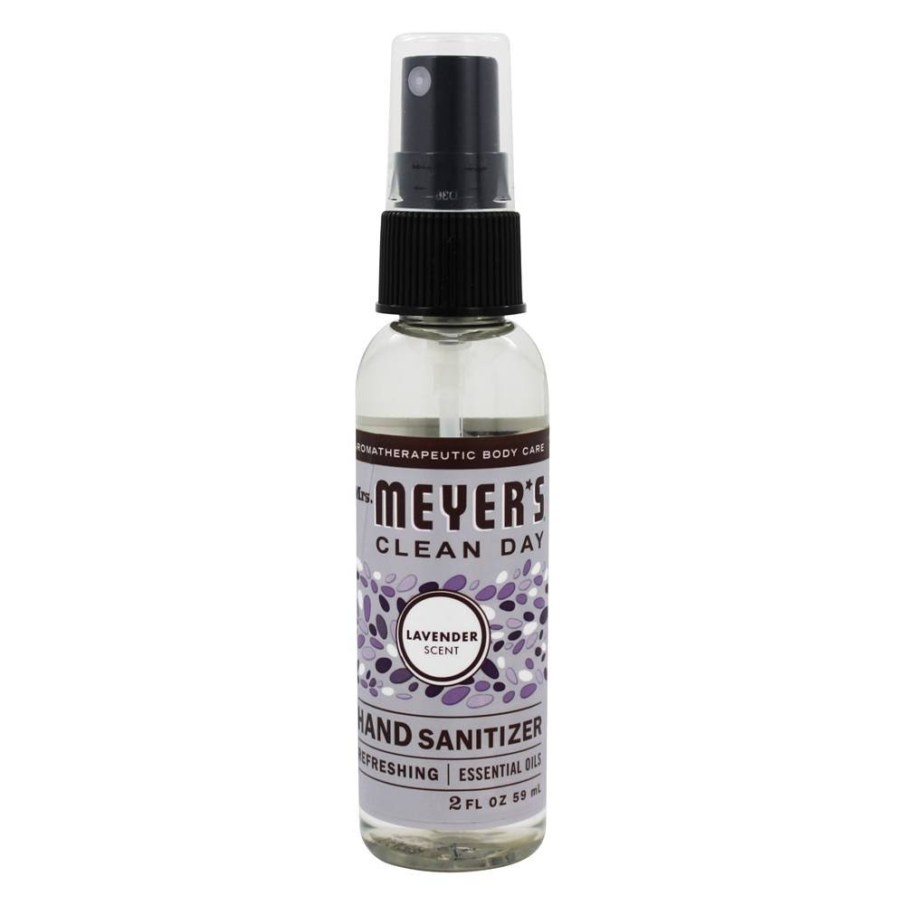 Mrs Meyers Hand Sanitizer, Lavender Scent - 2 fl oz