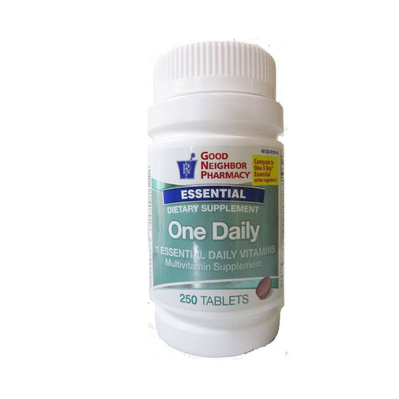 GNP One Daily Multivitamin Supplement - 250 Tablets