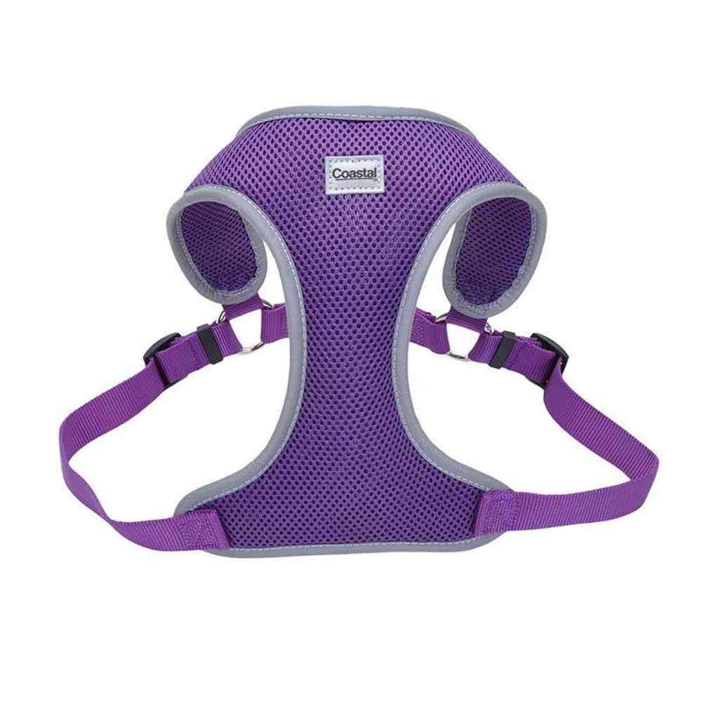 Coastal Mesh Reflective Harness - Purple, Large