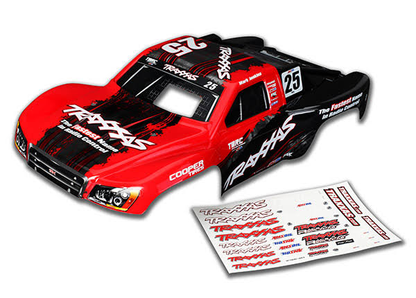 Traxxas Nitro Slash Painted #25 Mark Jenkins Body TRA4414X