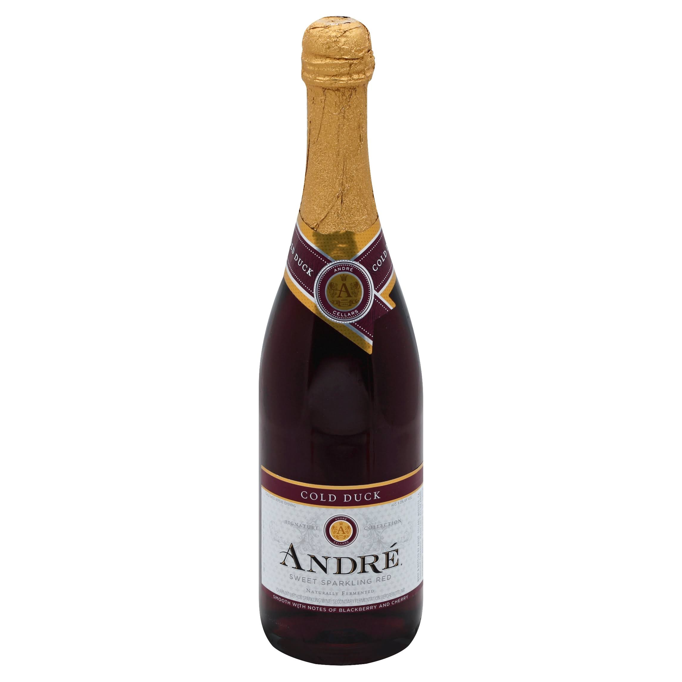 Andre Cold Duck Sparkling Sweet Red Wine