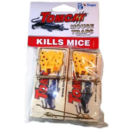 Tomcat Wooden Mouse Trap (5-Pack)