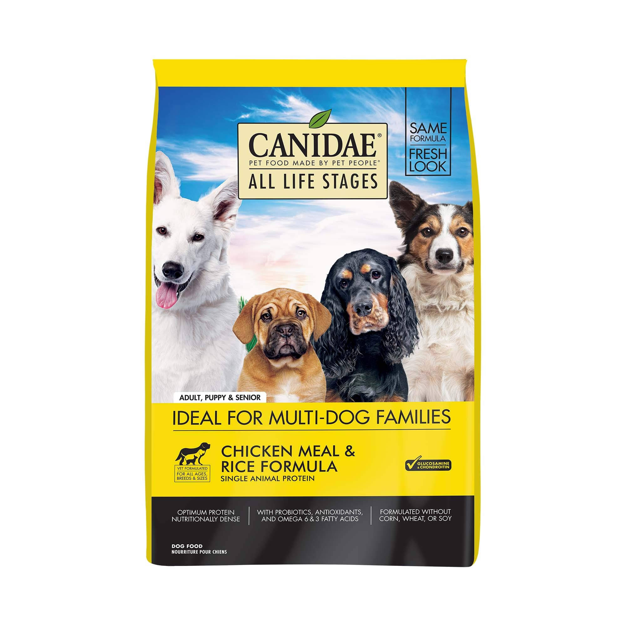 Canidae Life Stages Dog Food - Chicken and Rice, Dry, 15lb