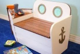 Build Wooden Toy Chest by White Toy Box Bench Foter