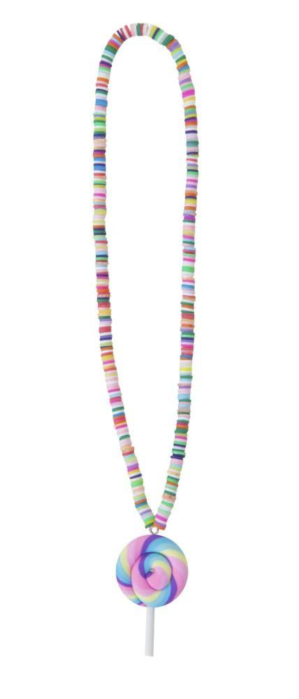 Great Pretenders Rainbow Lolly Necklace