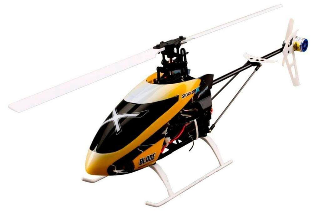 Blade 200 Sr X Bnf Bind-n-fly Helicopter RC Model Kit - with Safe Technology