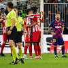 Barcelona blows late lead against Atlético, which will face Real ...