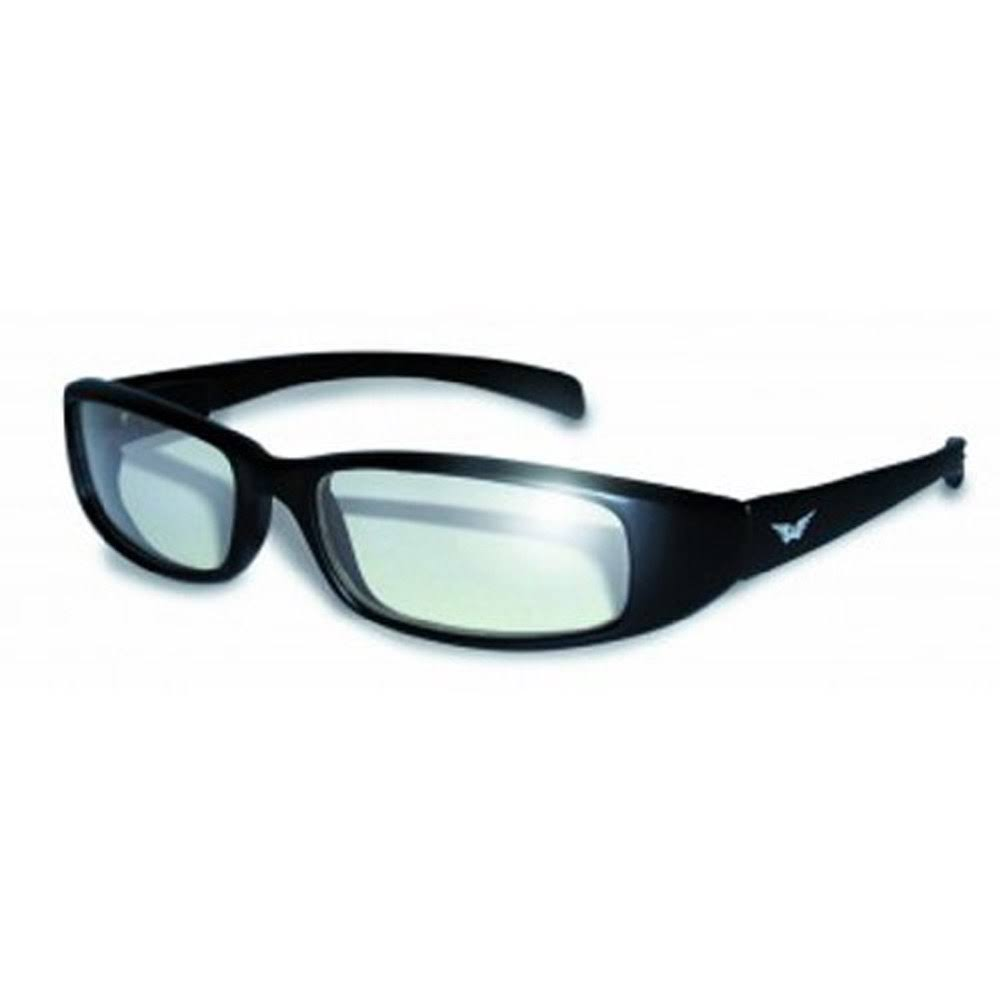 Global Vision Eyewear New Attitude Sunglasses - Clear Lens