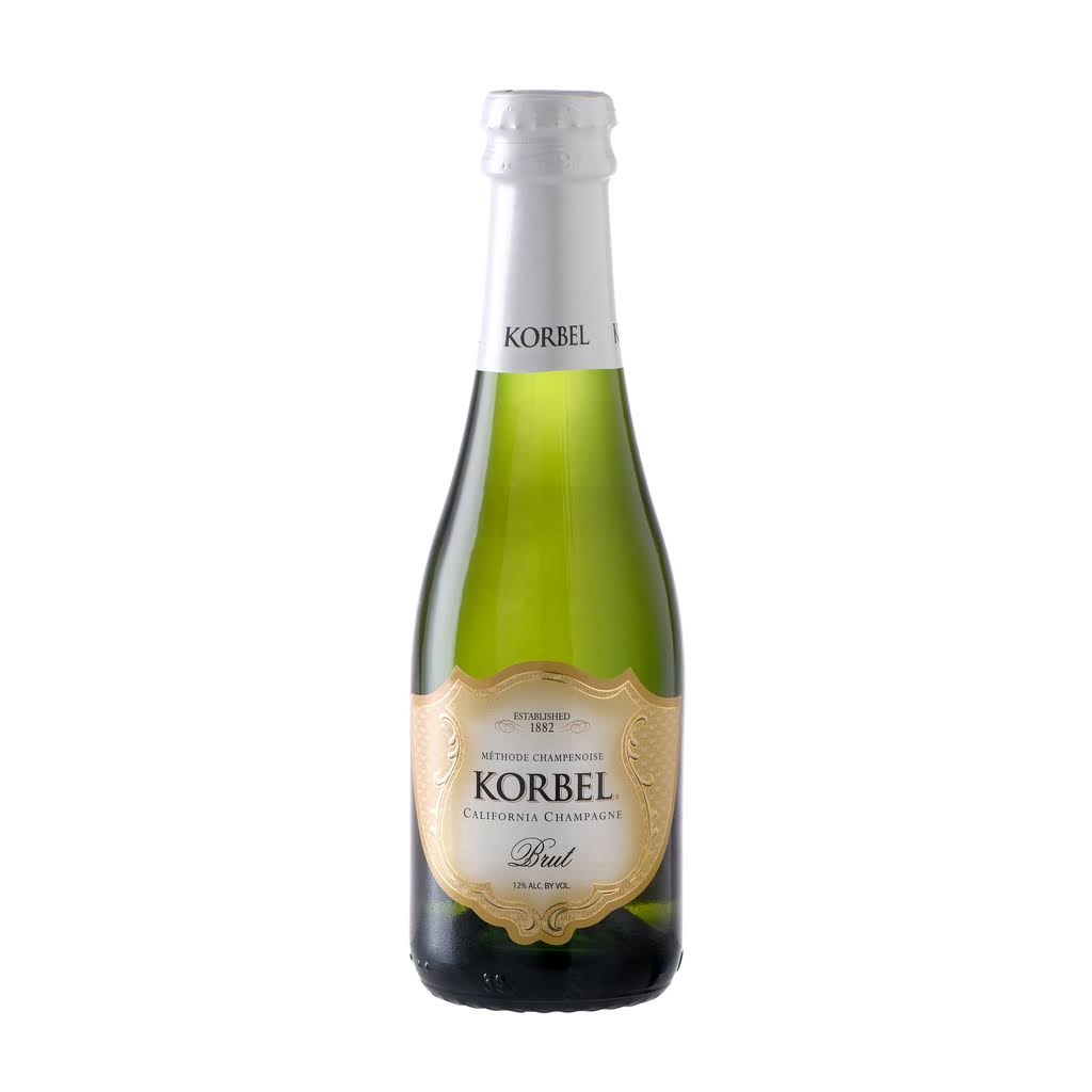 Korbel California Champagne, Brut - 187 ml