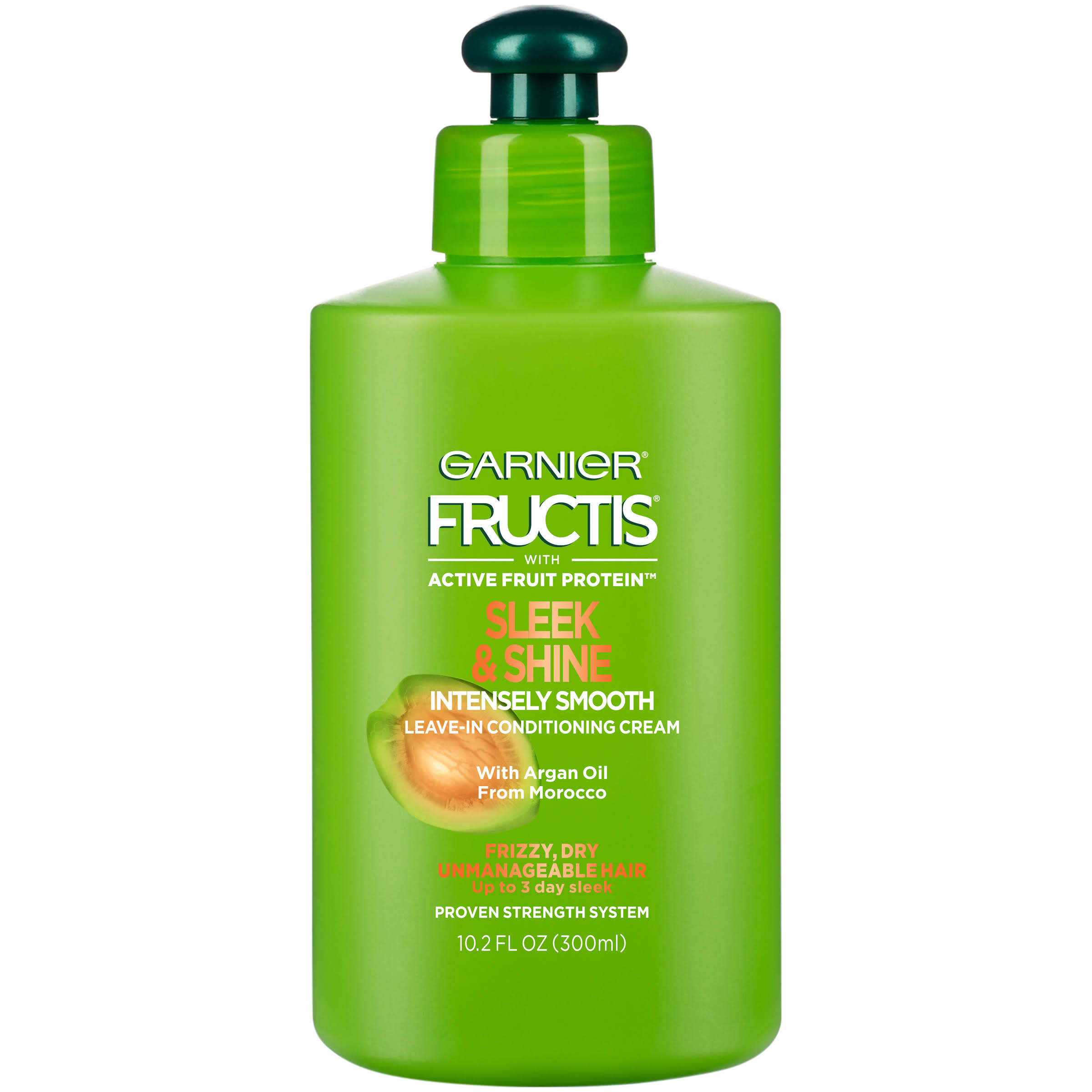 Garnier Fructis Sleek & Shine Intensely Smooth Leave-In Conditioning Cream - 10.2oz