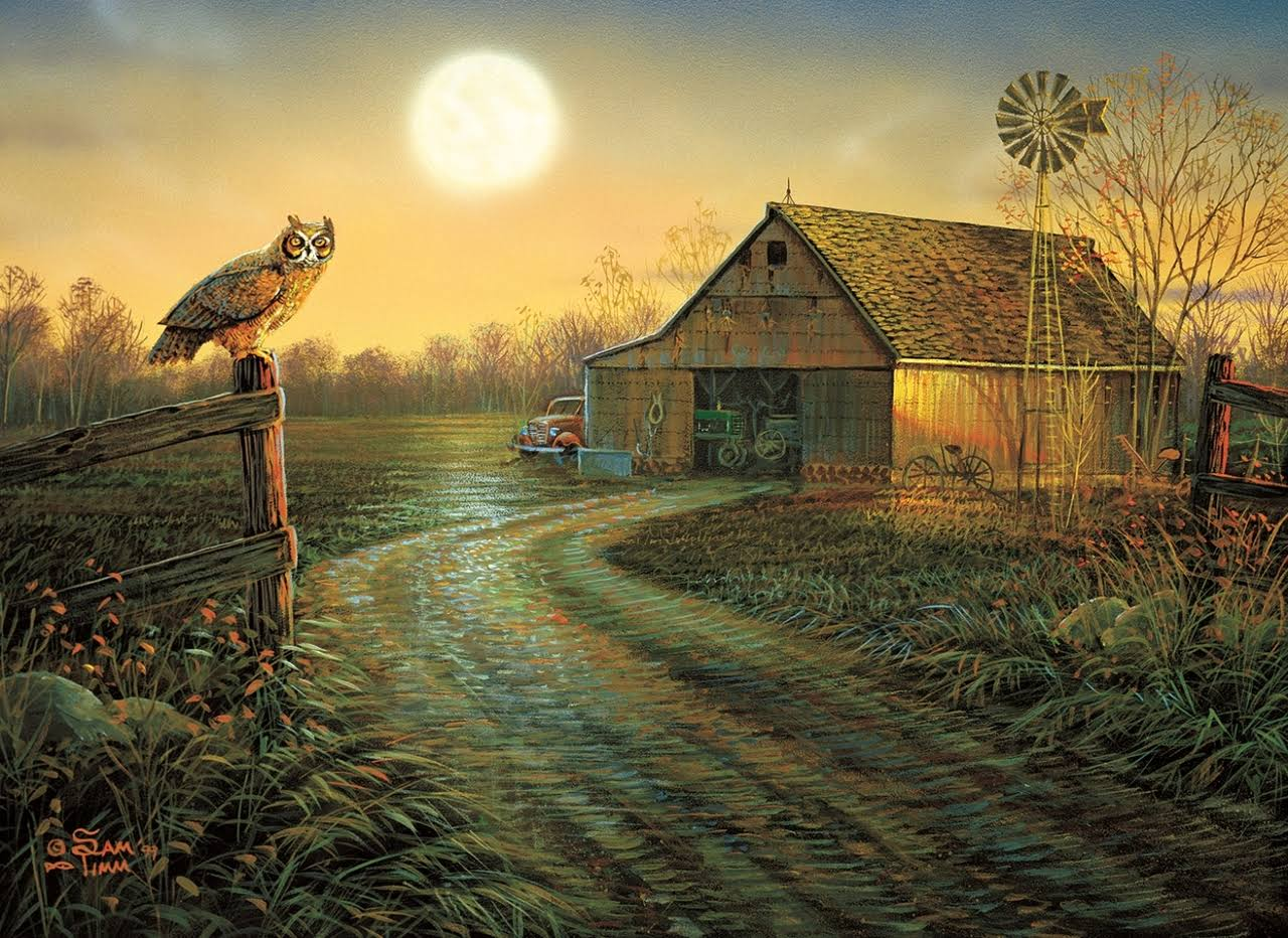 Late Summers Eve - 500+pc Jigsaw Puzzle by Sunsout